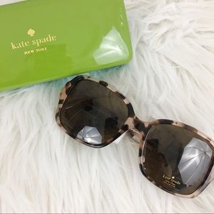 Kate Spade Annora/P/S Havana's pink sunglasses